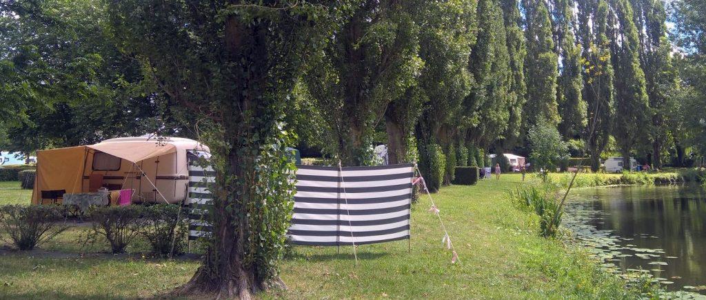 Camping Les Vergers - emplacements - camping Les Vergers - Plancoët - Côtes d'Armor