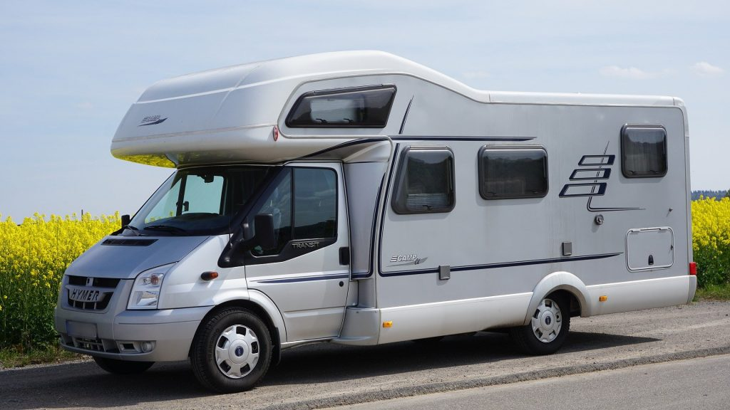 Camping-car - Camping Les Vergers